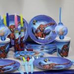 Black Spiderman Birthday Party Supplies
