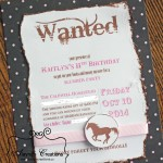 Cowgirl Horse Birthday Party