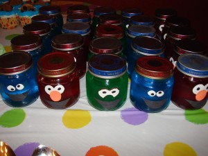 Elmo and Cookie Monster Birthday Party