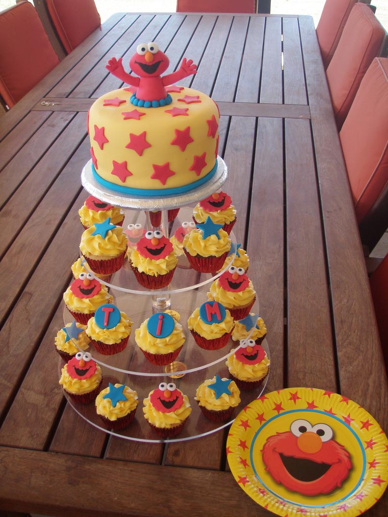 Elmo Birthday Party Cakes