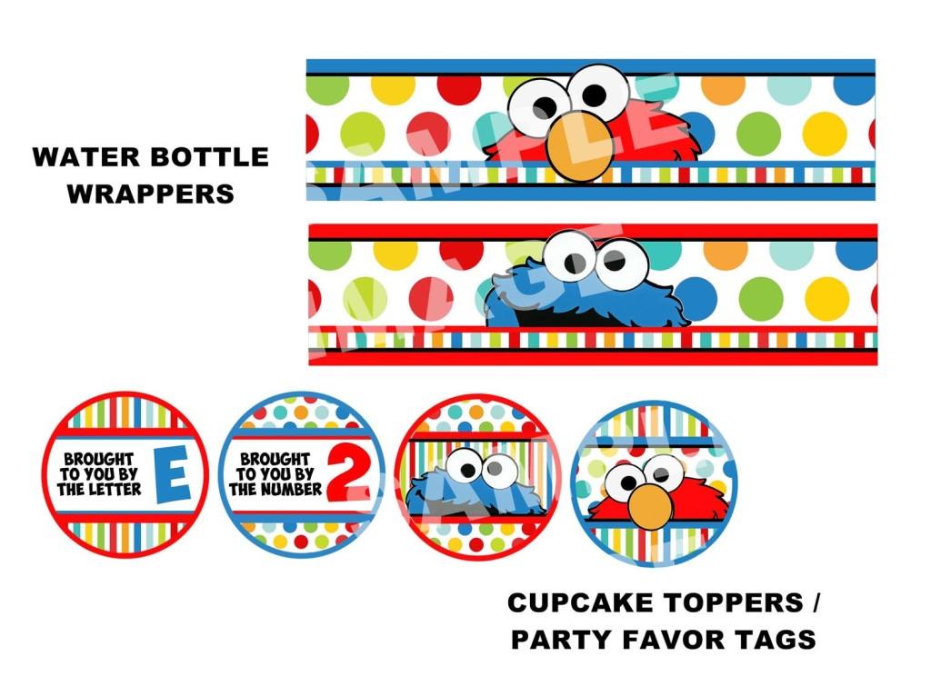 Elmo Birthday Party Free Printables