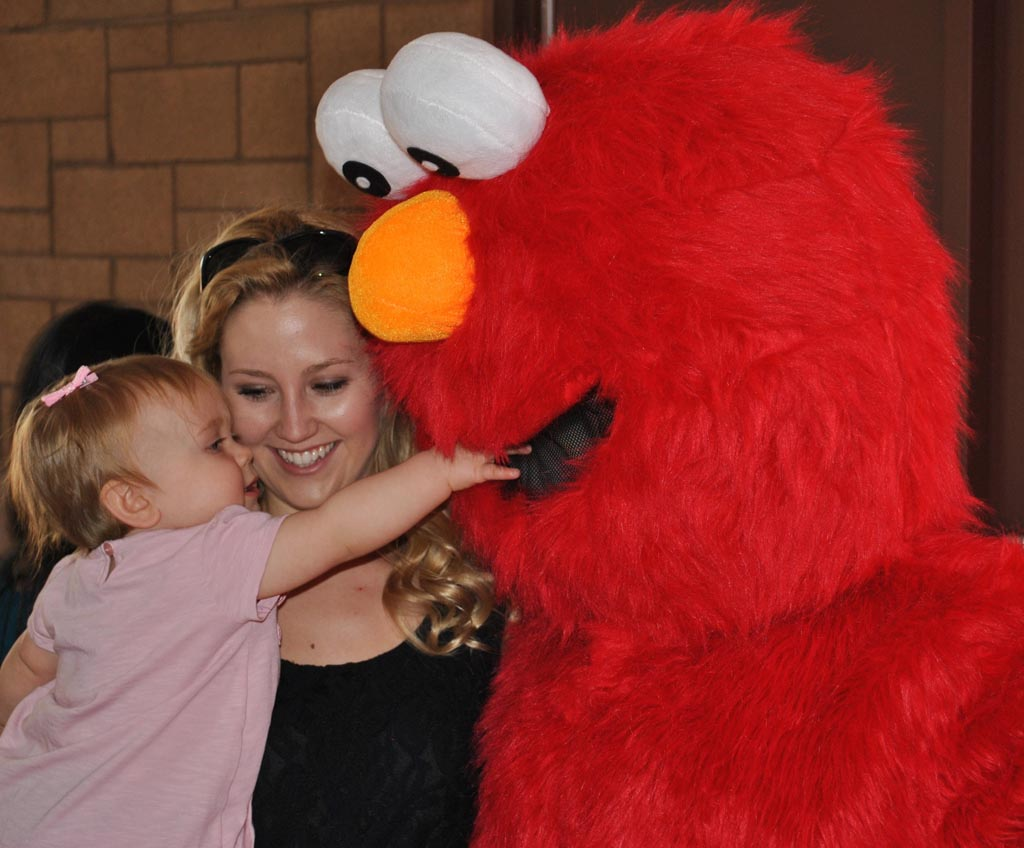 Elmo Character for Birthday Parties