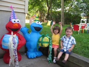 Elmo Impersonator for Birthday Party