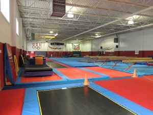 Extreme Gymnastics Birthday Party