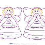Fairy Birthday Party Invitations Free Printable