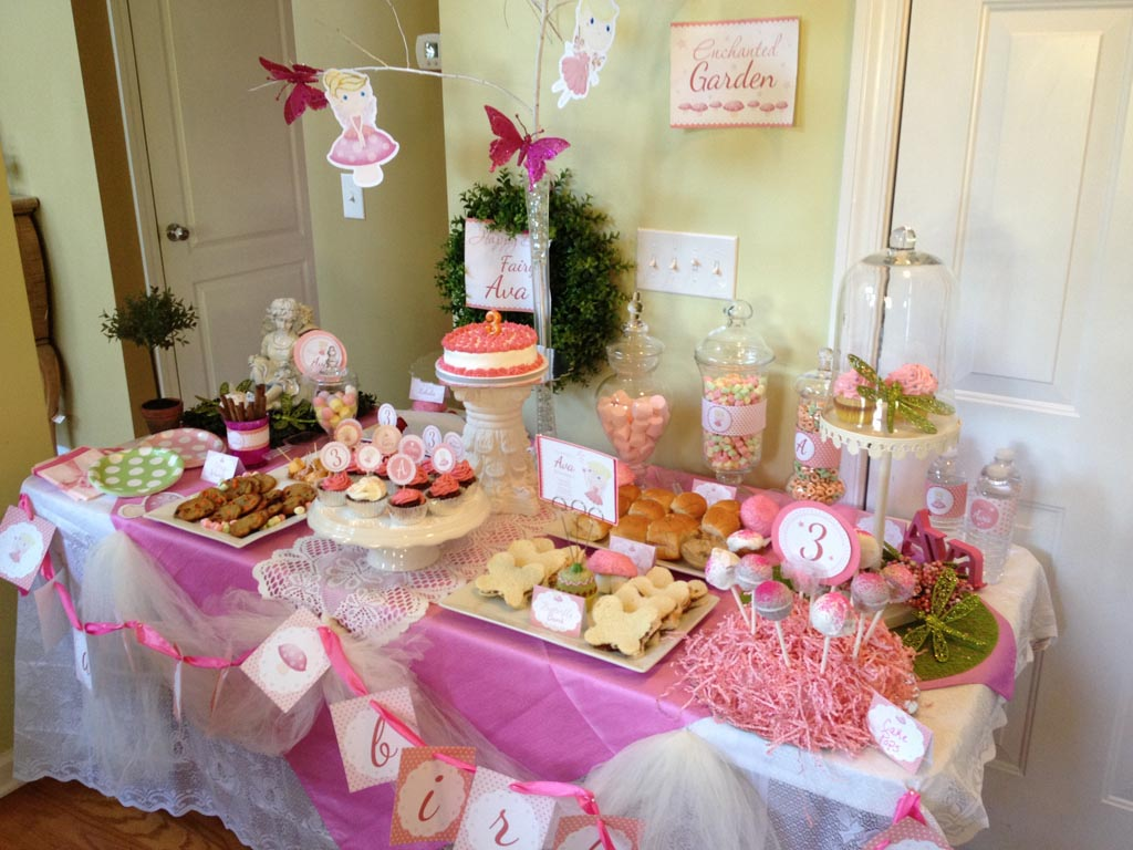 Fairy Birthday Party Pictures