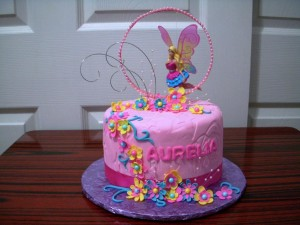 Fairy Cake Ideas Birthday Party