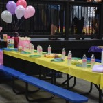 Flying High Gymnastics Birthday Party