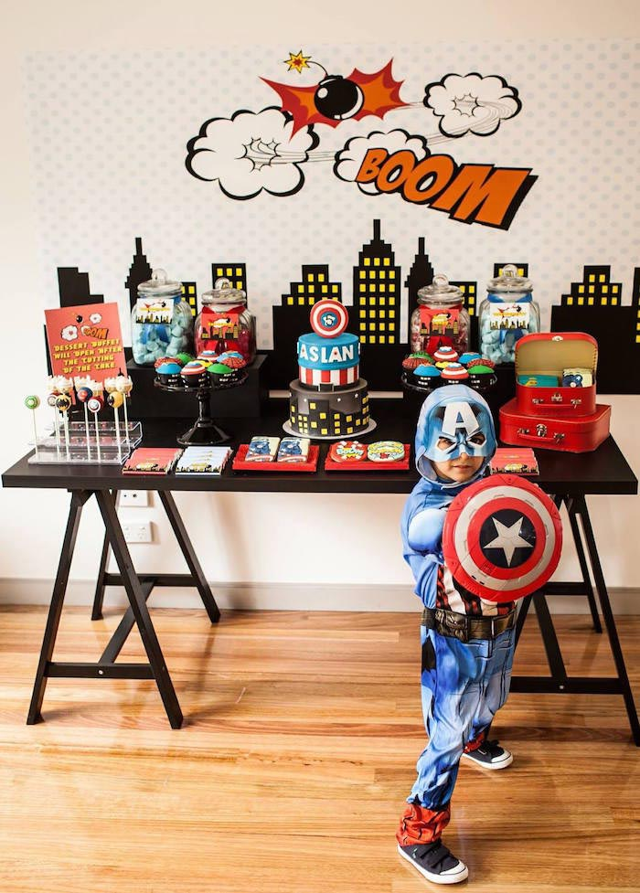 Food for Superhero Birthday Party