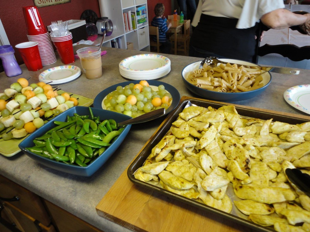 Food for Toddler Birthday Party