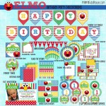 Free Elmo Birthday Party Printables