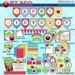 Free Elmo Birthday Party Printables