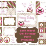 Free Printable Birthday Party Planner