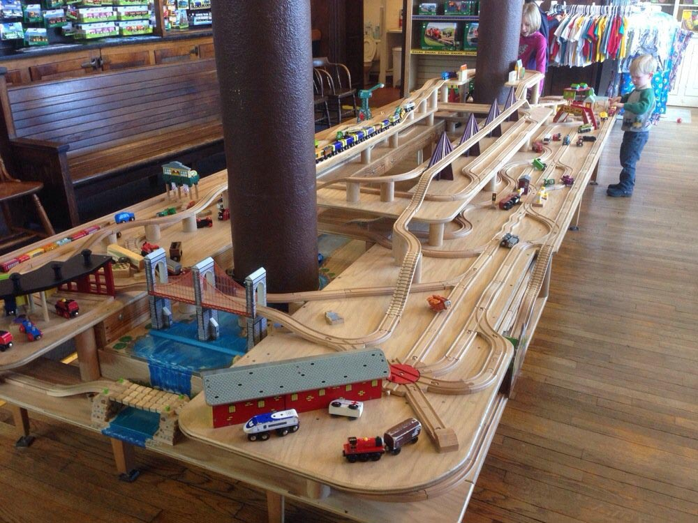 Frisco Train Store Birthday Party