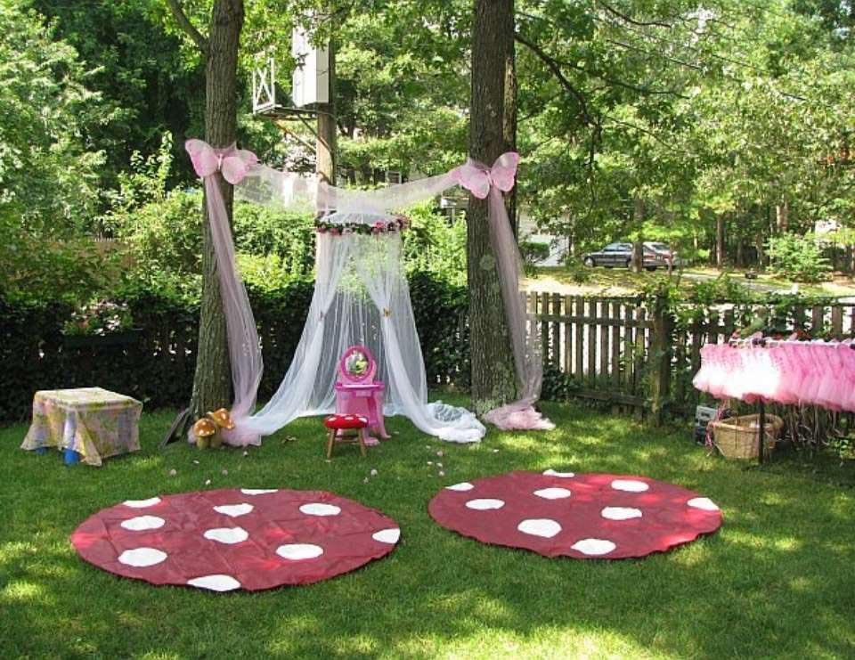 Garden Fairy Birthday Party | Home Party Ideas