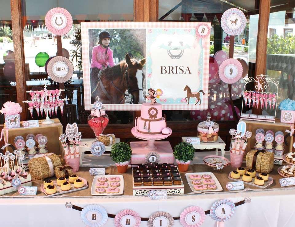 Girl Horse Birthday Party Ideas