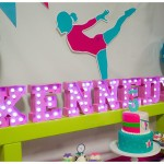 Gymnastic Themed Birthday Party