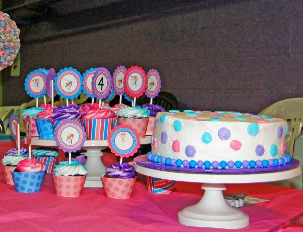 Gymnastics Birthday Party Favor Ideas