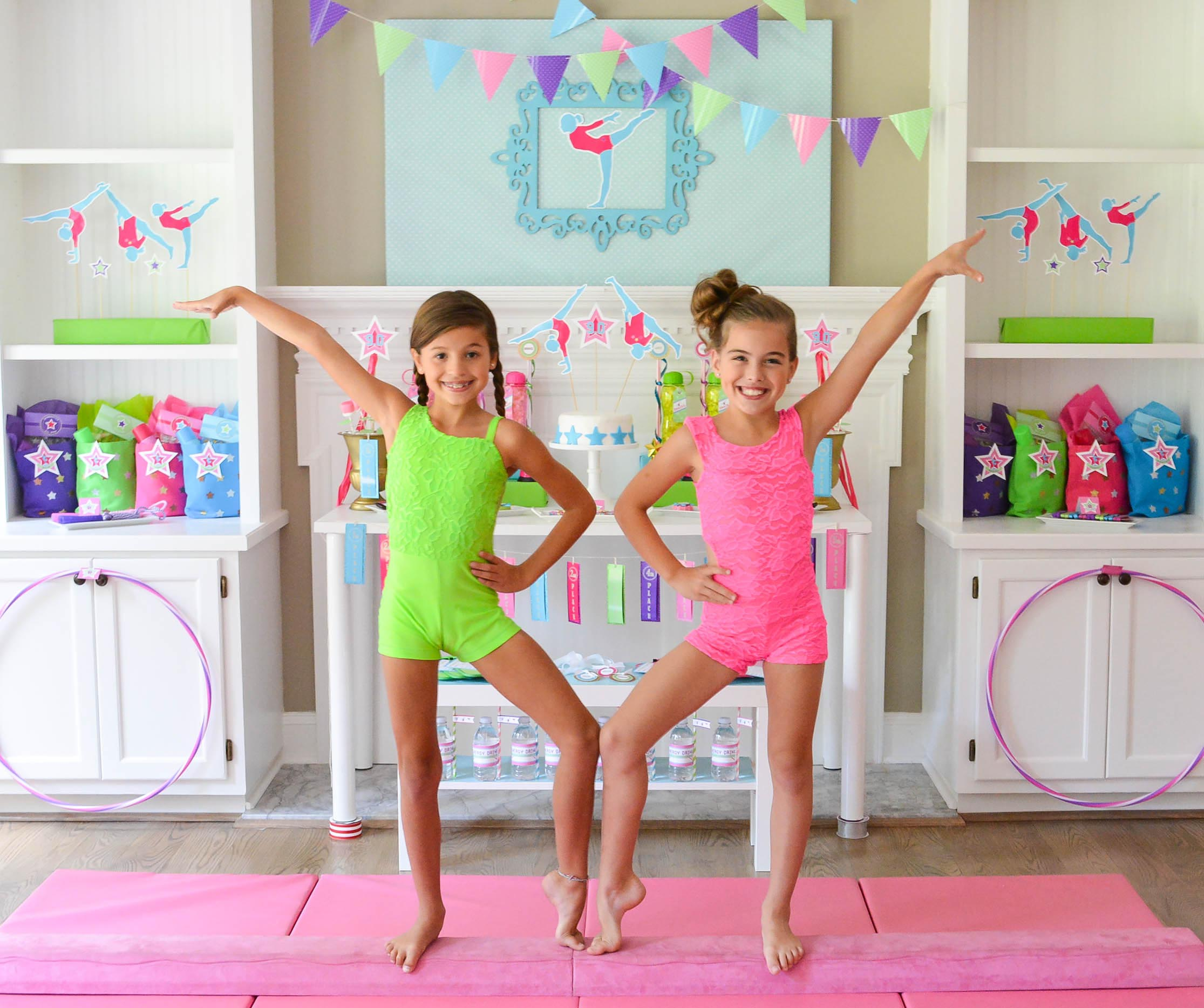 Gymnastics Places for Birthday Parties