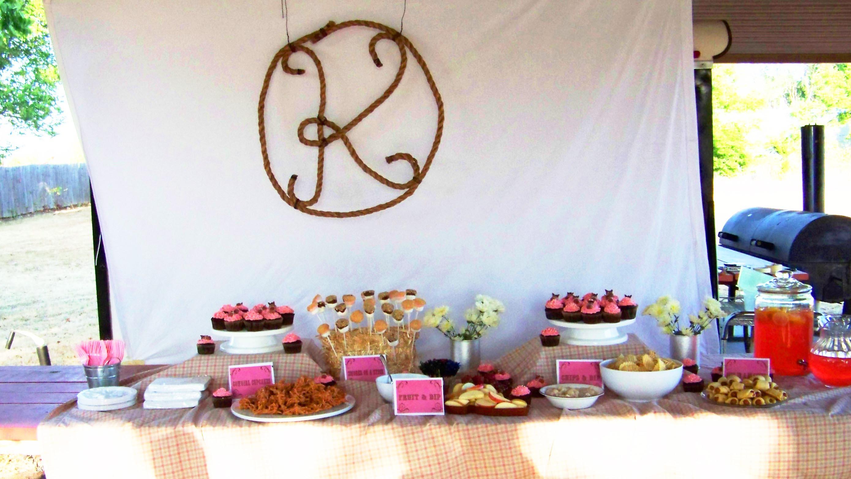 Horse Birthday Party Food Ideas