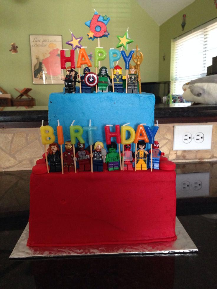Lego Marvel Superheroes Birthday Party
