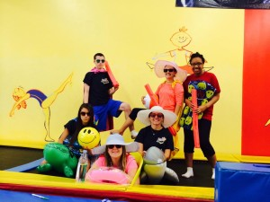 Planet Gymnastics Birthday Party