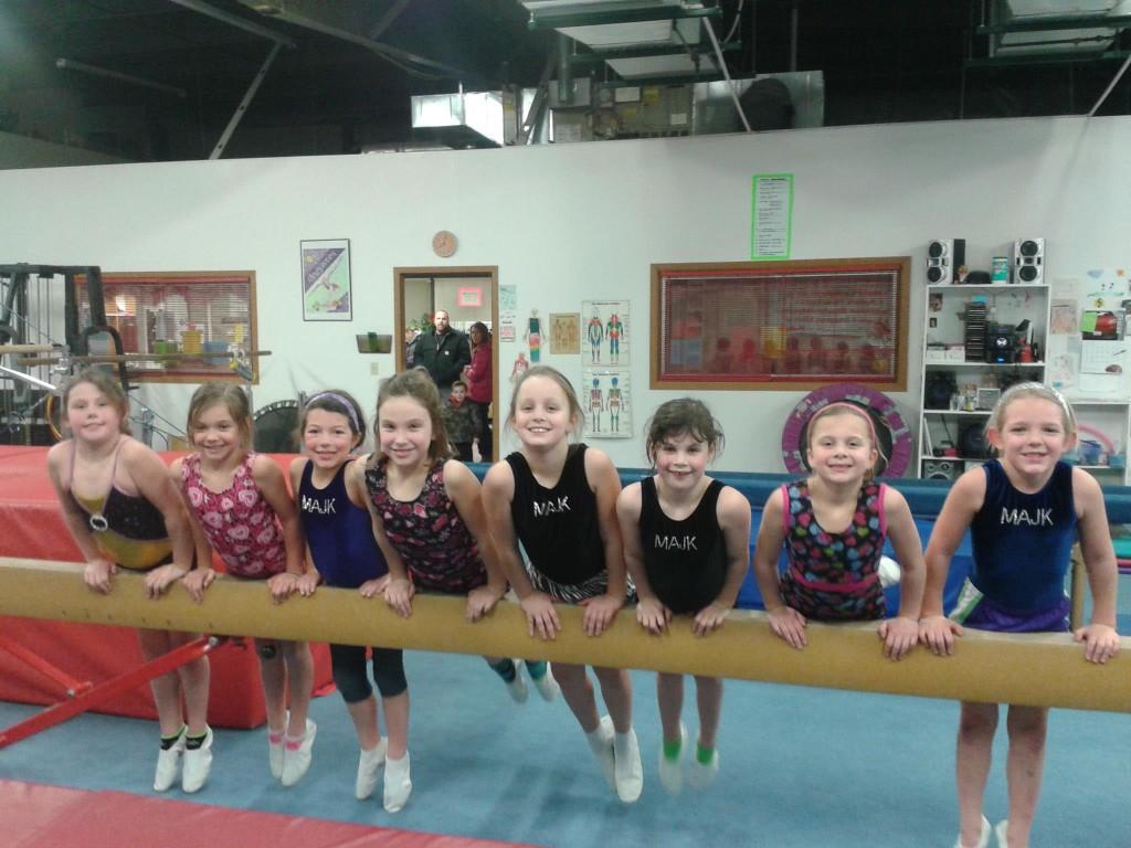 Racine Gymnastics Birthday Party