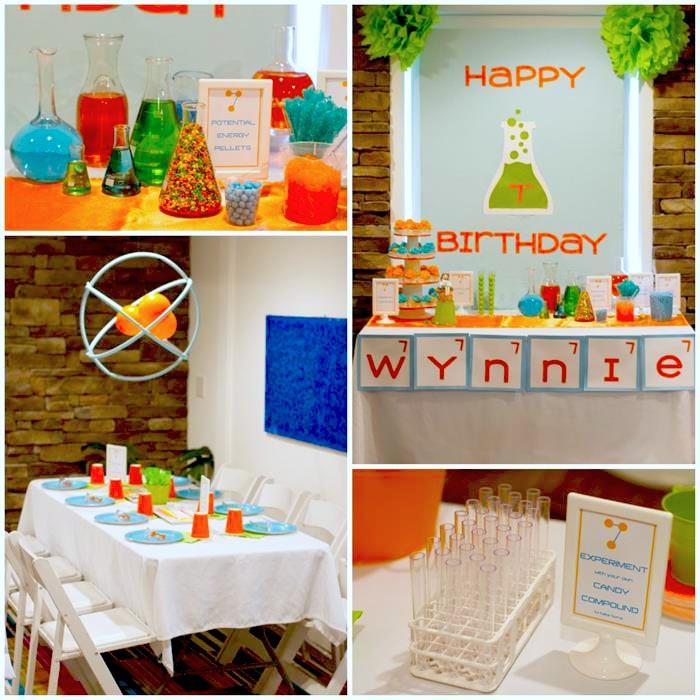 Science Birthday Party Ideas