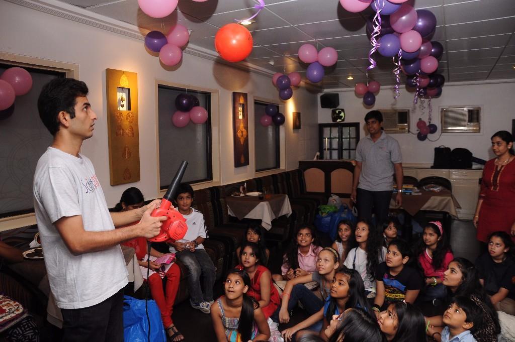 Science City Birthday Parties