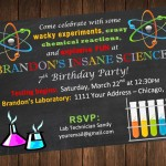 Science Lab Birthday Party