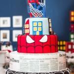 Spiderman 4th Birthday Party Ideas