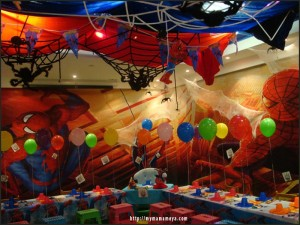 Spiderman Activities for Birthday Parties