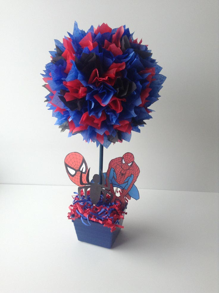 Spiderman Birthday Party Favors