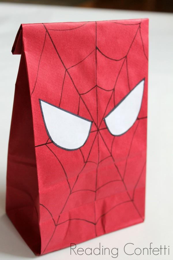 Spiderman Birthday Party Ideas Free Printables
