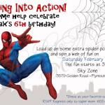 Spiderman Birthday Party Invitations Printable