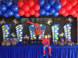 Spiderman Birthday Party Pictures