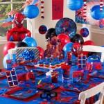 Spiderman Birthday Party Theme