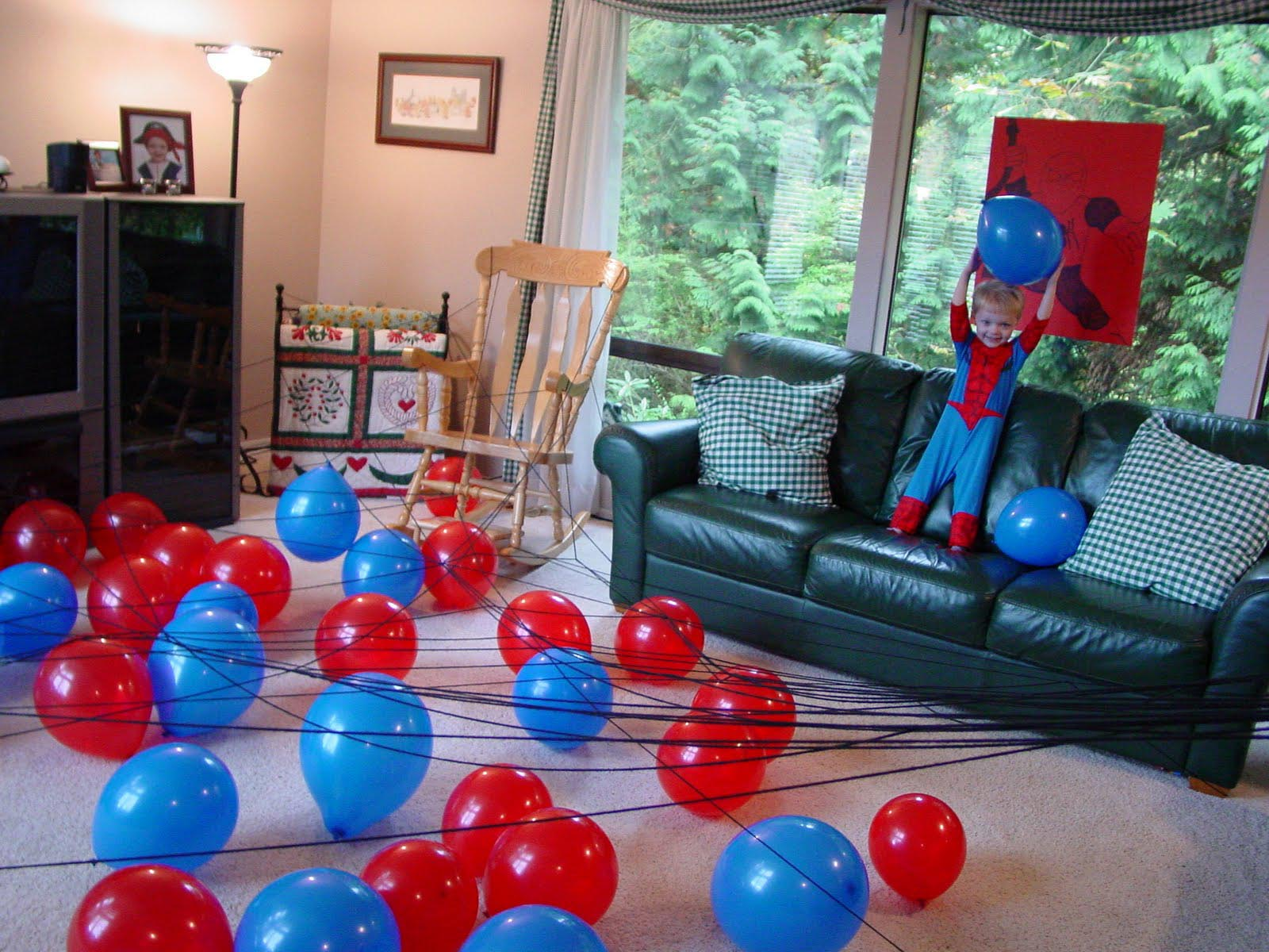 Spiderman Birthday Theme Party