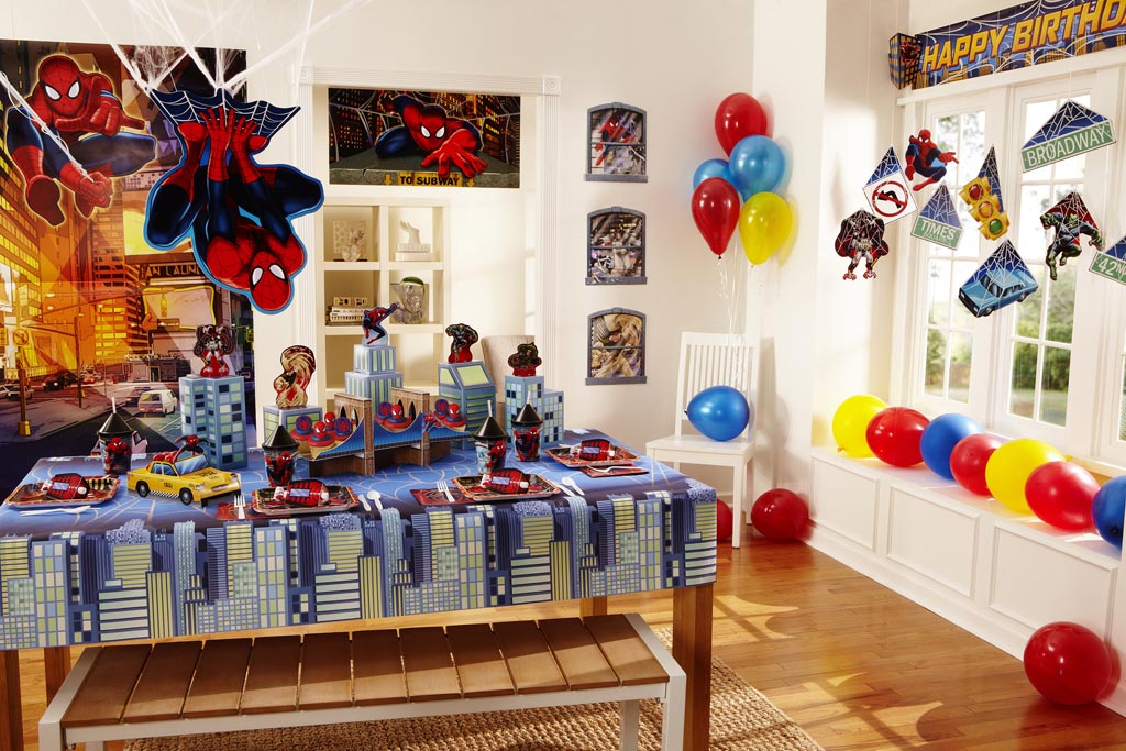 Spiderman Character for Birthday Party