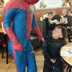 Spiderman Impersonator Birthday Party