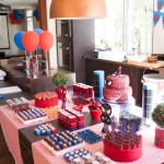 Spiderman Themed Birthday Party Food