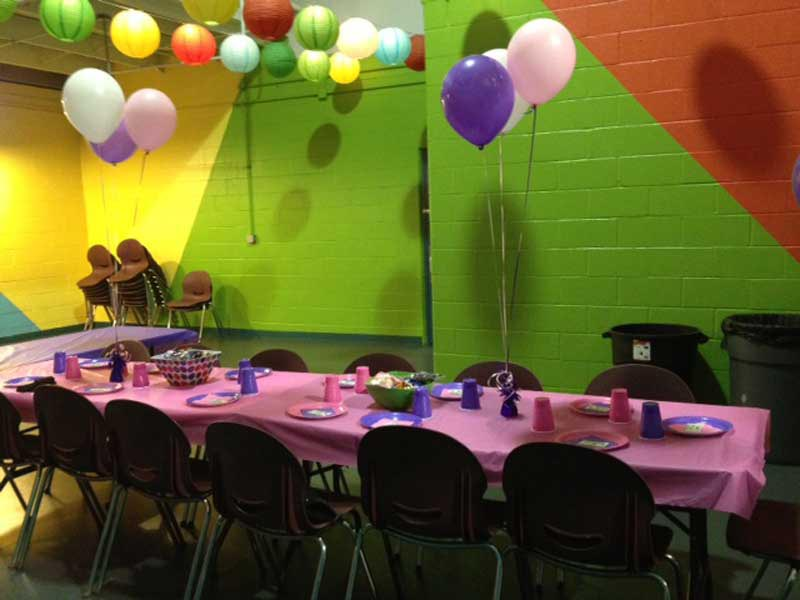 Sports and Learning Complex Birthday Parties