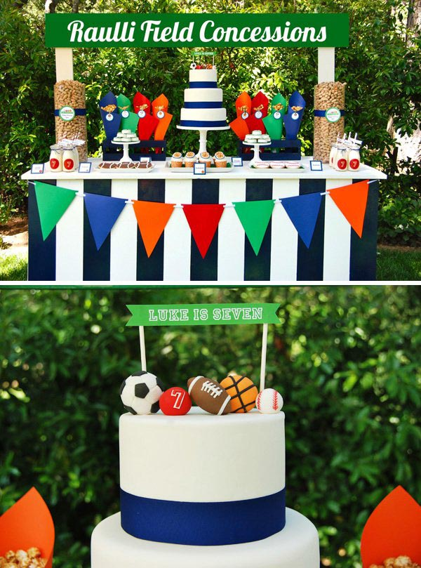 Sports Blast Birthday Parties