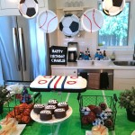 Sports Themed Birthday Parties