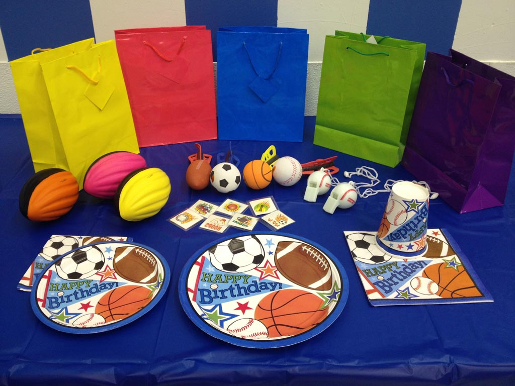Sports Themed Birthday Party