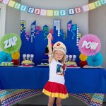 Superhero 3rd Birthday Party Ideas