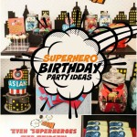 Superhero 5th Birthday Party Ideas