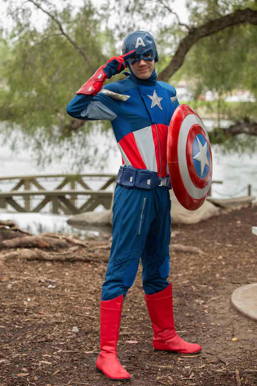 Superhero Actors for Birthday Parties