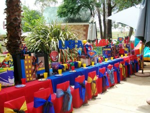 Superhero Birthday Party Activities