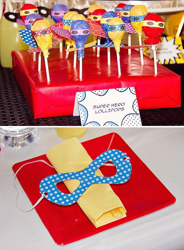 Superhero Birthday Party Blog